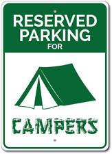 Campers Parking Sign, Camper Gift, Camper Sign, Camping Sign ENSA1010042