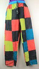 Pantaloni di cotone unisex Patchwork Hippie Pantaloni Yoga Casual Festival Da Combattimento HT10