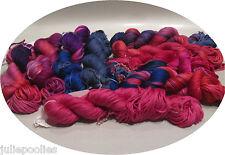Handpainted Lang Olivia Mulberry 100% Silk Ribbon Yarn - 9 colors