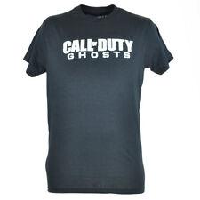 Call of Duty Ghosts Logo Premium Action Video Game Black Tshirt Mens Tee