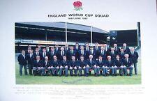 ENGLAND World Cup SQUAD presentazione FOTO MAGGIO / GIUGNO 1987-Prima Coppa del mondo