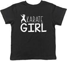 Karate Girl Kids Childrens T-Shirt