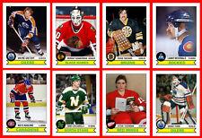 RETRO High Grade 1980s Hockey Card Style Fridge Magnet BOSTON to MONTREAL U-Pick