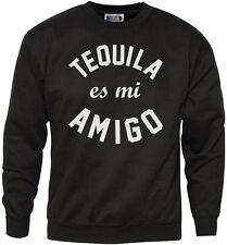 Tequilla es mi Amigo - Tequila Patron Shots Gift Party Mens Sweatshirt