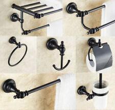Oil Rubbed Bronze Bathroom Hardware Set Bath Accessories Towel Bar Wall Mount