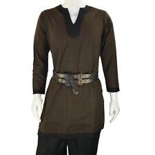 Medieval Knight Fantasy Viking Norseman Elven Kids 8-12 Shirt Tunic Larp New