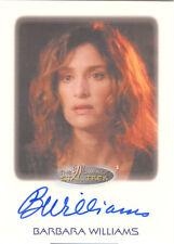 "Women of Star Trek - Barbara Williams ""Anna"" Auto / Autograph"