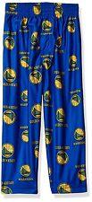 Golden State Warriors NBA Toddler Boys Team Logo Lounge Sleepwear Pants: 2T-5/6