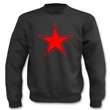 Pullover Roter Stern I Fun I Sprüche I Lustig I Sweatshirt