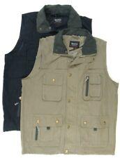 Mens Adults Bodywarmer Gilet Jacket Sleeveless Lightweight Multi Pockets Zip 10
