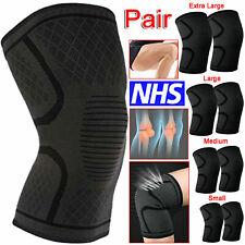 2x MAGNETIC Knee Support Compression Brace Wrap Arthritis PATELLA PAIN STRAP UK