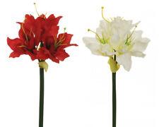 Amaryllia nice piccolo H.52 D.15 cm fiori artificiali da composizione