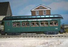 ET&WNC TWEETSIE COACH Nos. 16 17 19 or 20 Railroad On30 Laser Quik-Kit DFT16S