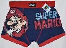 Super mario homme hipster boxer sous-vêtements pantalon officiel nouveau tailles s-xxl