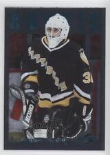 1995-96 Score Black Ice #291 Philippe DeRouville Pittsburgh Penguins Hockey Card