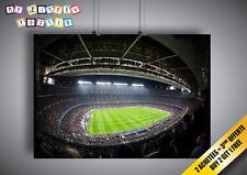 Poster Camp Nou Stadium Football FC Barcelona Wall Art