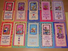 Pimboli Charming-Cards Card Karte Klappkarte mit Umschlag groß Schimmer Rarität