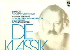 "BRAHMS - HAITINK - SZERYNG - VIOLINKONZERT D-dur    12"" LP  (6086)"
