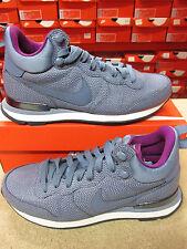 Nike Womens Internationalist Mid LTHR Hi Top Trainers 859549 400 Sneakers Shoes