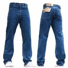 "BNWT Hombre Nuevo Azul-C Blue Jeans Trabajo Granjeros Mecánica Ropa Casual Tallas 28"" -60"""