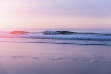 Fototapete Selbstklebend Strand Sonnenuntergang Nordsee - Made in Germany