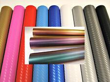 3D Carbon Fibre Vinyl Wrap Gloss 300mm x 1520mm (Air/Bubble Free)  For Car