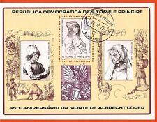 249 SAN TOME E PRINCIPE 450eme anniversaire de la mort d'Albrecht Durer Bloc A51