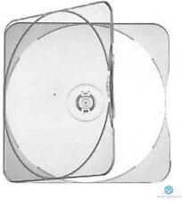 Clear Square Clam Shell in plastica di alta qualità singolo caso CD DVD GAME DISK