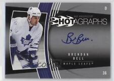 2006 Fleer Hot Prospects Hotagraphs #H-BB Brendan Bell Toronto Maple Leafs Auto