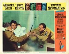 CAPTAIN NEWMAN MD TONY CURTIS GREGORY PECK ANGIE DICKINSON BOBBY DARIN LOBBY