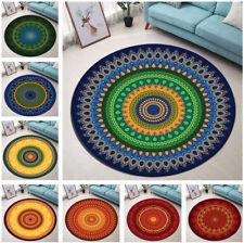 Vintage Beautiful Mandala Design Round Floor Mat Bedroom Living Room Area Rugs