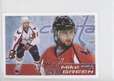 2011-12 Panini Album Stickers #174 Mike Green Washington Capitals Hockey Card