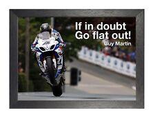 Guy Martin 6 Race Legend Isle Of Man TT Motivational Photo Inspirational Poster