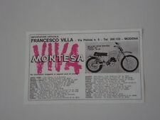 advertising Pubblicità 1971 MOTO MONTESA MX CROSS 250