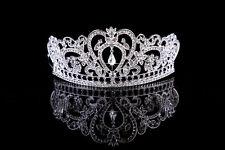 Vintage Wedding Bridal Bridesmaid Prom Party Baroque Rhinestone Tiara Crown