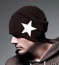 Women Men Unisex Star Knit Winter Autumn Ski Warm baggy Skull Hat Cap Beanie