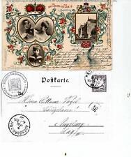 Regensburg-150 J. Anwesenh. Fürstenhaus - 1899  ( K158-o1 )