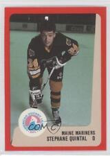 1988-89 ProCards AHL/IHL #STQU Stephane Quintal Maine Mariners (AHL) Hockey Card