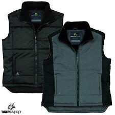 Delta Plus Panoply Fidji Mens Fleece Lined Padded Bodywarmer Gilet Coat Jacket