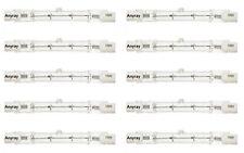 """(10)-Bulbs 75W 78mm 3""""inch Quartz Halogen Light J78 75 Watt T3 R7S 75-Watts DE"""