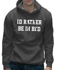 Je préfère être au lit drôle adolescent paresseux à capuche