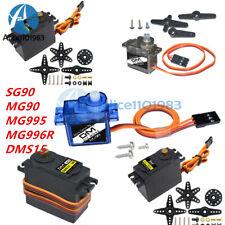 MG90/MG995/996R/SG90 Gear Servo DMS15 15KG 180°/270° Metal Digital RC Helicopter