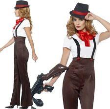 femmes '20 Années 1920 GLAMOUR Gangster costume déguisement s - XL par SMIFFYS