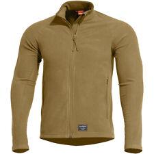 Pentagon Arkos Fleece Sweater Warm Mens Military Tactical Work Jacket Coyote