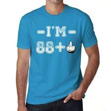 I'm 88 Plus Homme T-shirt Bleu Cadeau D'anniversaire