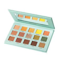 15 Color Matte Glitter Pigmented Waterproof Pressed Eyeshadow Powder Palette