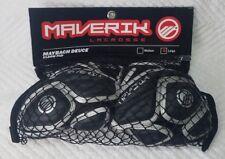 New Maverik Maybach Deuce Lacrosse Elbow Pads Medium Large Black