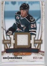 2007 Fleer Hot Prospects Red 94 Jersey Steve Bernier San Jose Sharks Hockey Card