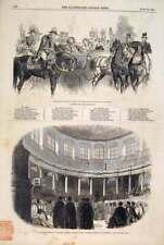 Antique Print Prince Wellington Review British Oxford University 1847 08MAA0