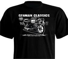 T-Shirt schwarz Oldtimer Florett RS K50 1977 – 1981 Scheibenbremse Kreidler